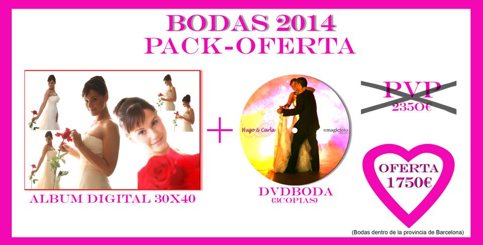 Oferta Fotografos de Boda 2014